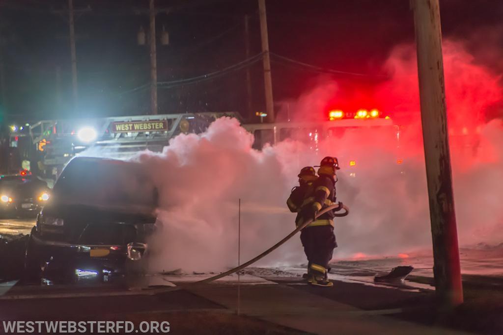 3-'18: Car Fire - Empire Blvd