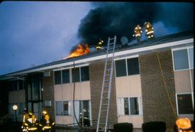 Creek Hill Apartment Fire