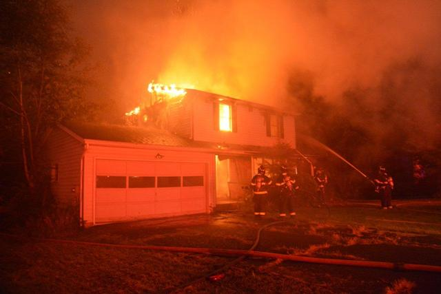 Early morning fire at 936 Gravel Road