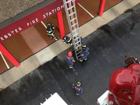 Ladder training at Station 1